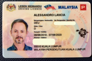 Lancia Malaysia driving license
